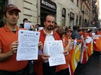 McDonald's, sit-in Flaica a Piazza di Spagna: silenzio azienda su istanze lavoratori rafforza nostra protesta