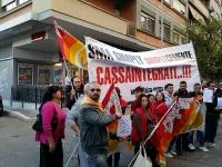 SMA SIMPLY, protesta flaica a Ostia
